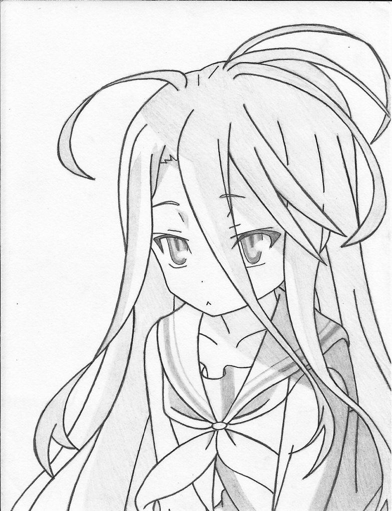 Shiro No Game No Life By Stephaniessf Deviantart Com On Deviantart Anime Character Drawing Anime Sketch No Game No Life