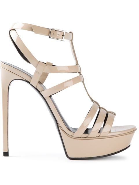 a1512b9c8336 Shop Saint Laurent  Bianca  sandals in Vitkac from the world s best  independent boutiques at farfetch.com. Over 1000 designers from 300  boutiques in one ...