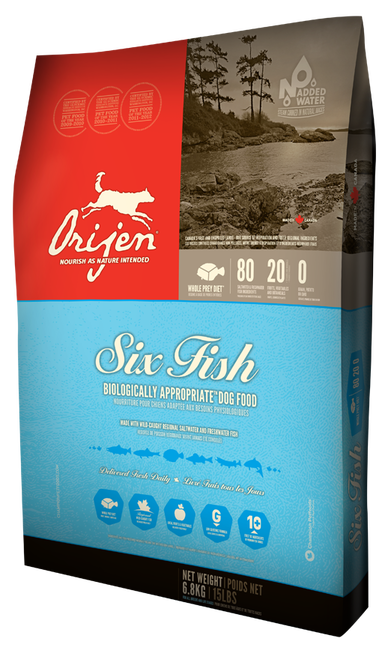 Orijen 6 Fish Dry Dog Food 25lb In 2018 Products Pinterest Dog