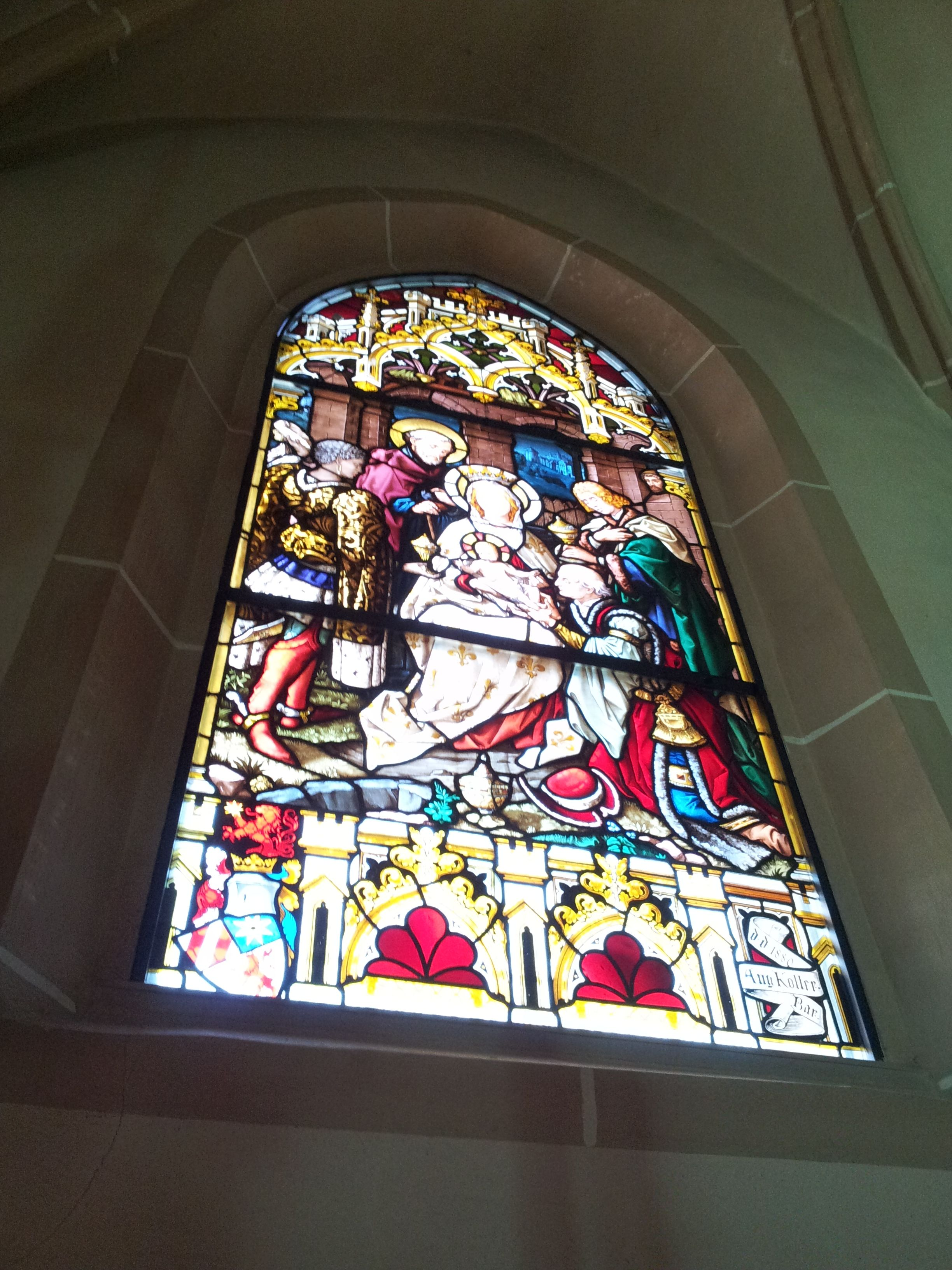 Adoration of the Magi in the St. Stephen's Church. Baden, Lower Austria