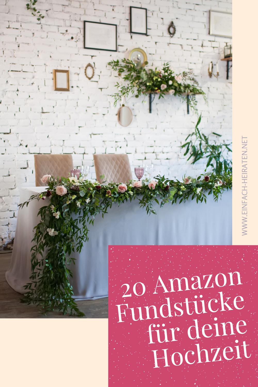 Die 20 Besten Amazon Produkte Fur Deine Hochzeit Einfach Heiraten In 2020 Hochzeit Hochzeit Spiele Hochzeitskarten Gestalten