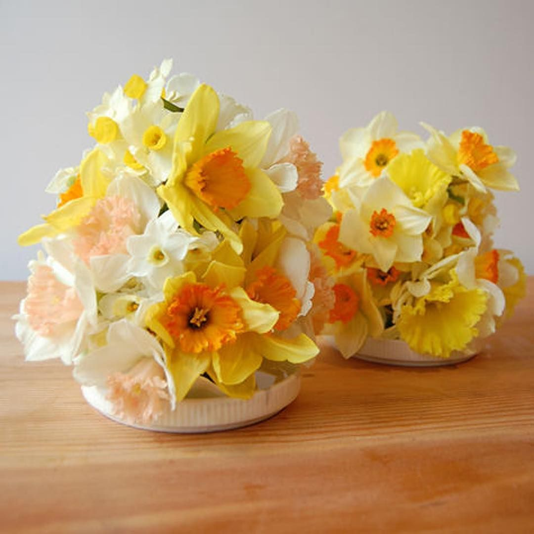 Wedding Flower Tips: Daffodil Wedding Flowers, Bright Wedding