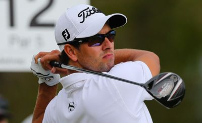 Adam Scott marries in Bahamas