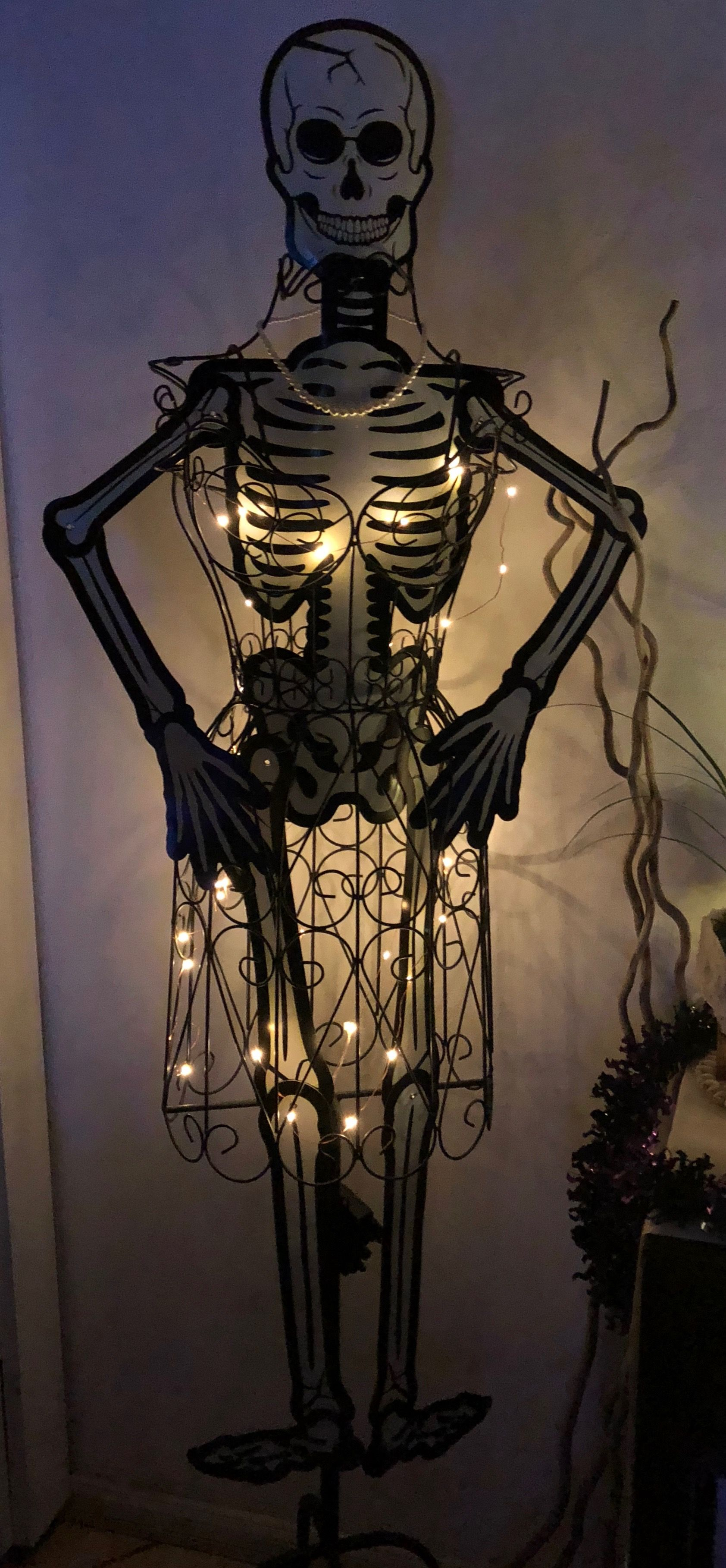 A Simple Addition Slipped Inside For Halloween Decor