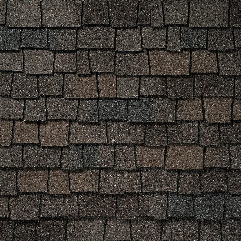 Gaf Installed Gaf Slateline Lifetime Laminated Asphalt Shingles Hsinstgafslas The Home De Architectural Shingles Roof Architectural Shingles Solar Roof Tiles