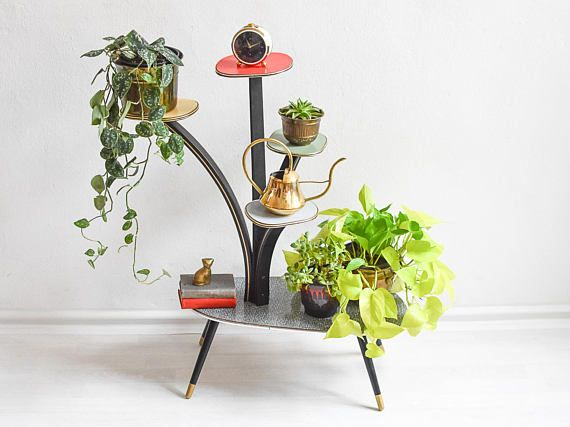 Tiered Plant Stand Indoor Modern 2 Tier