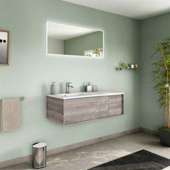 Meuble de salle de bains de 100 à 119 brun marron neo frame