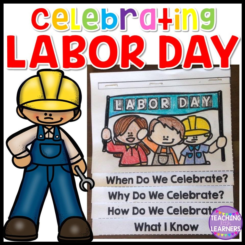 Labor Day Activity Teaching Little Learners Tpt Products