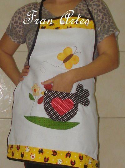 Resultado de imagen de patchwork delantales delantal pinterest - Patchwork para cocina ...