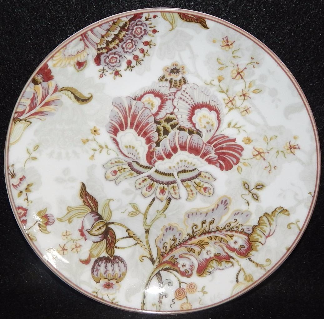 222 Fifth GABRIELLE Cream Lot of 4 Individual Appetizer Plates ...