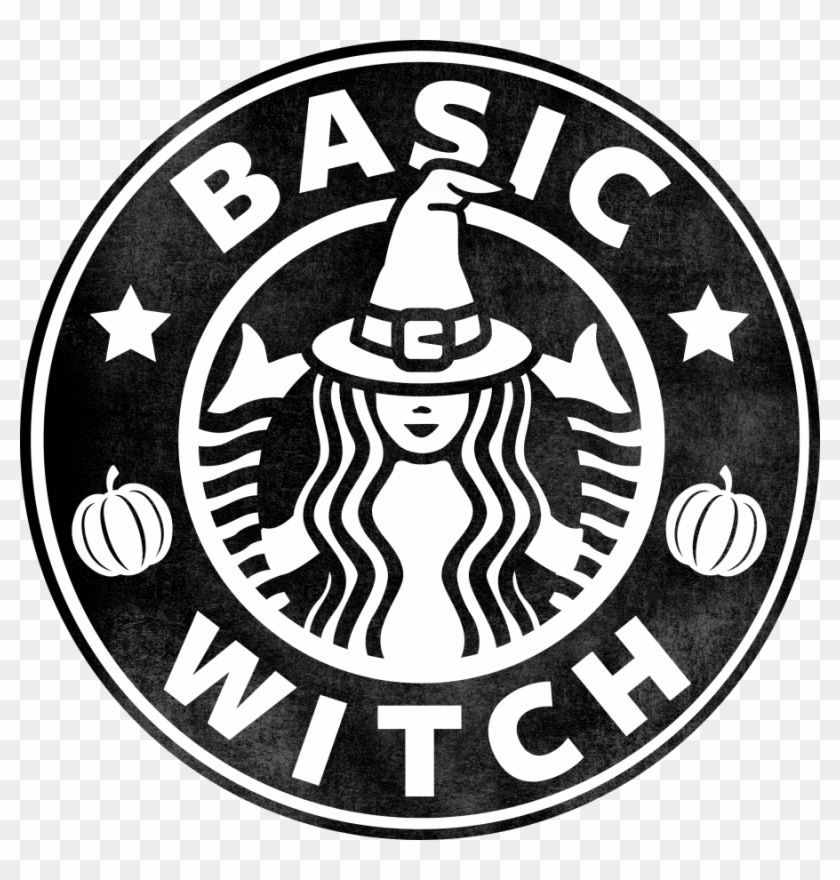 Enjoy hd & high quality Basic Witch Starbucks Logo, HD Png