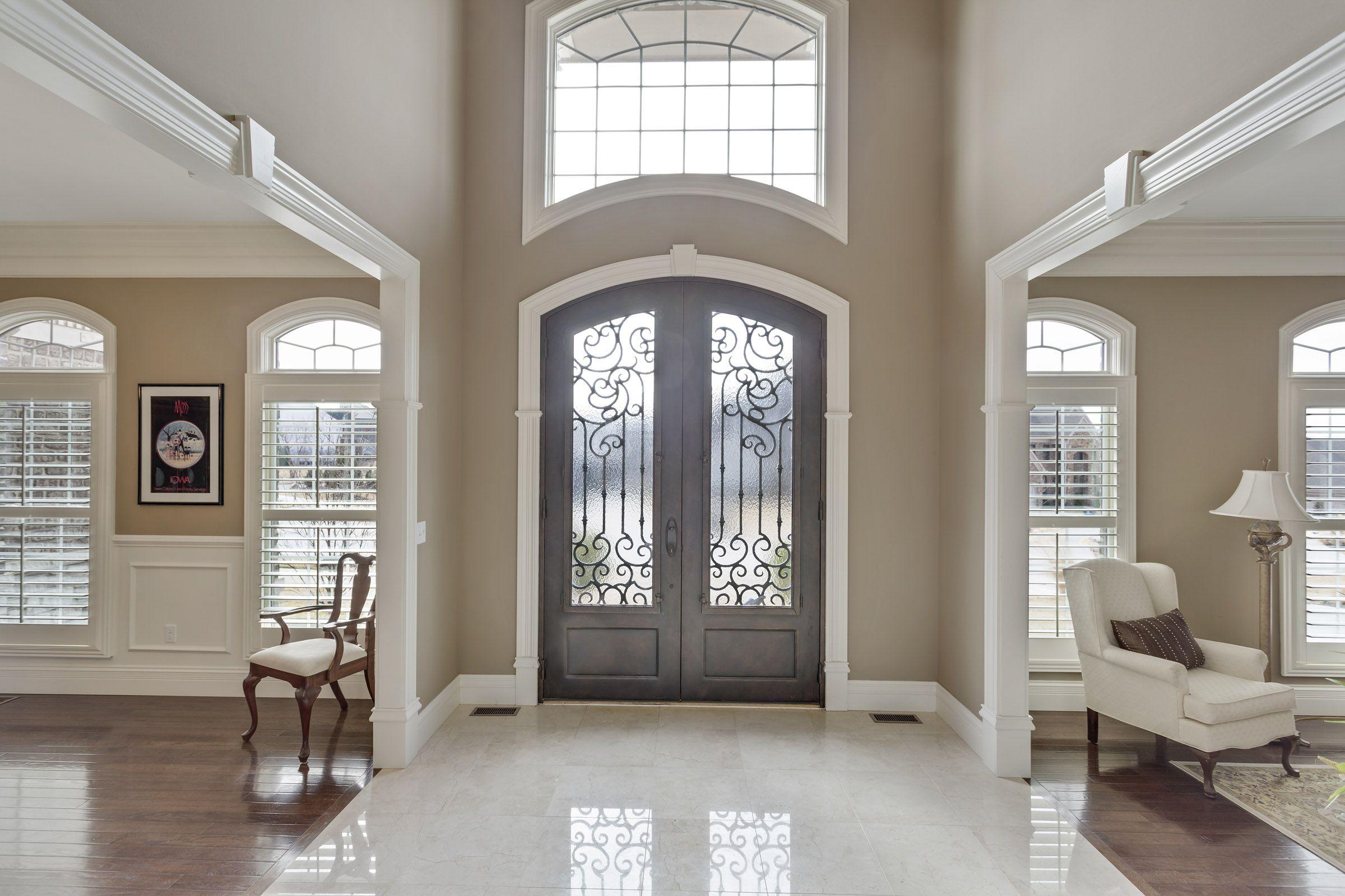 Beautiful Entry Way Big Foyer Open Foyer With Marble Floors Foyer Ideas Entryway Foyer Flooring Entryway Flooring