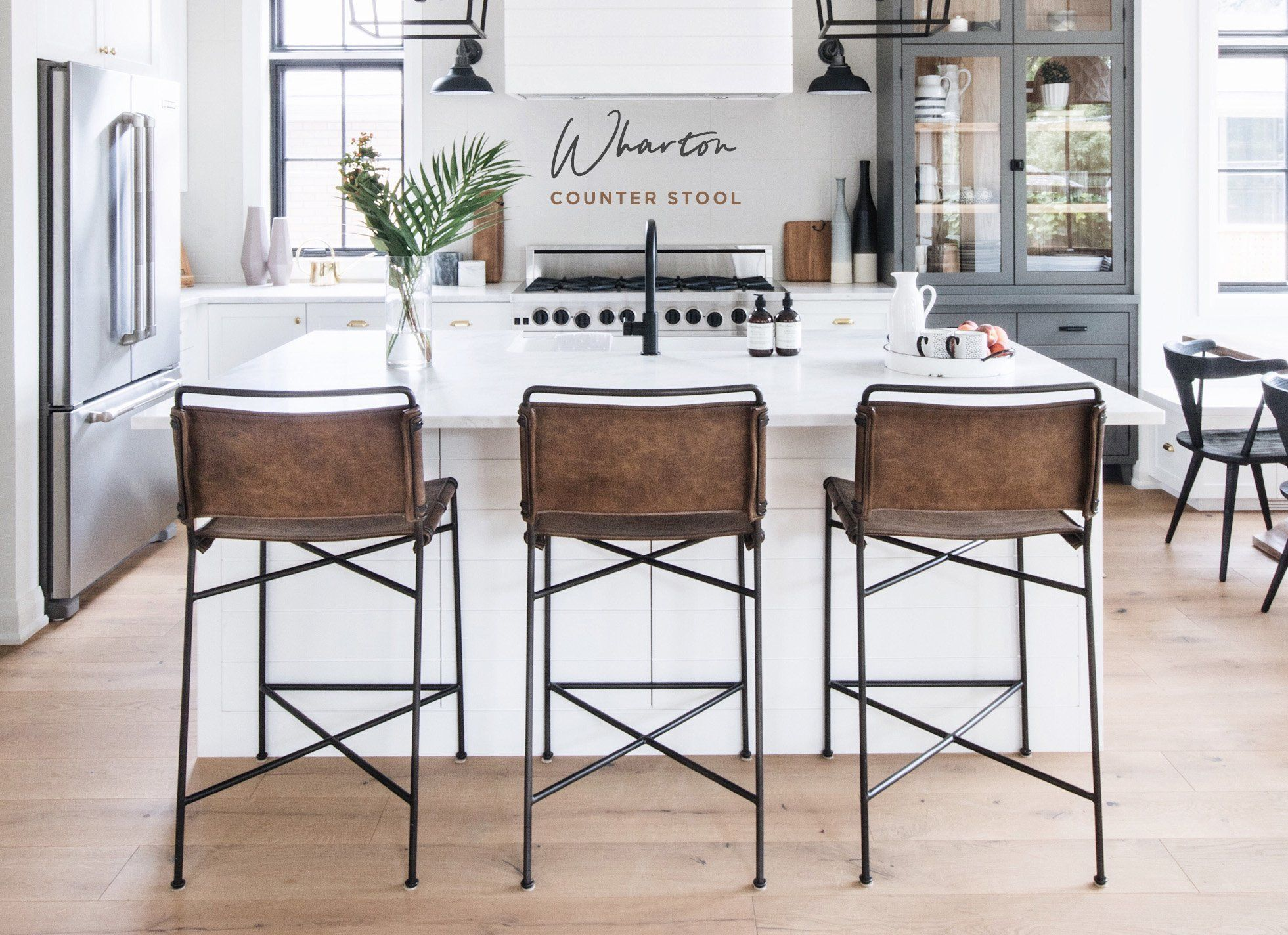 The Wharton Counter Stool From Ldshoppe Designer Curated