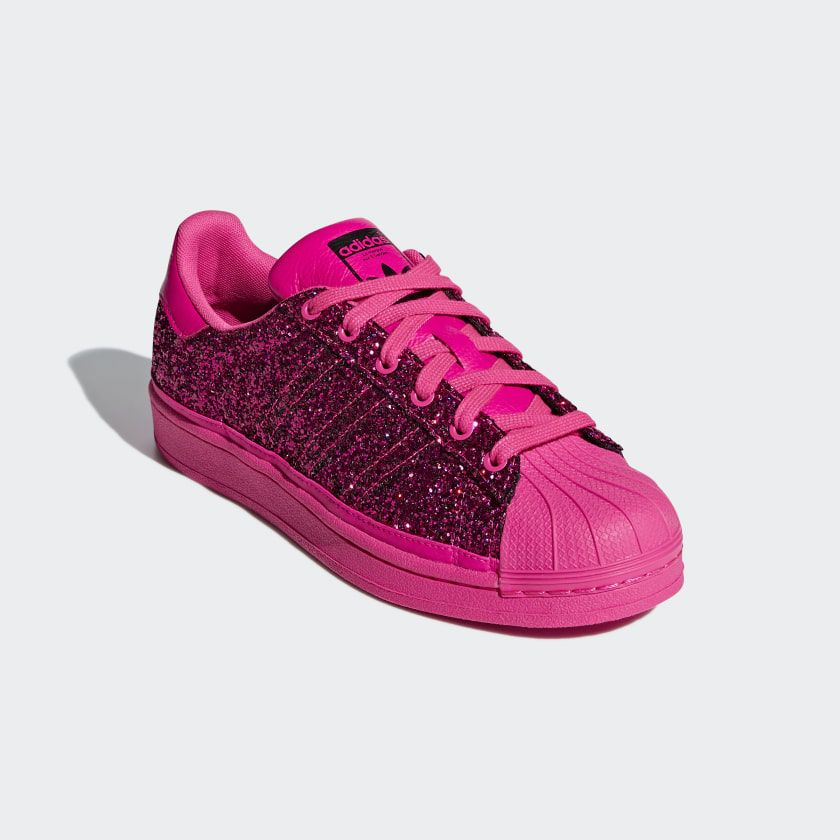 5bfe97398268d3 Tênis Superstar Shock Pink   Shock Pink   Collegiate Purple BD8054