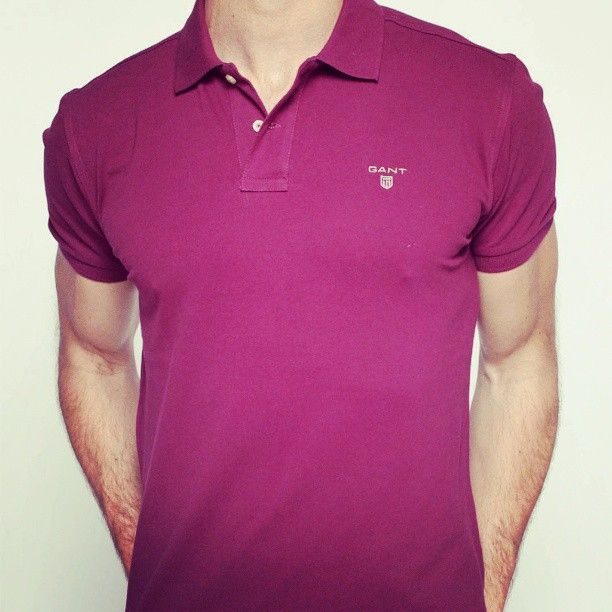 Getting Burgundy Vibes From This Gant Polo Shop It Online Now At Sukar Com Mens Tops Polo Ralph Lauren Men S Polo Shirt