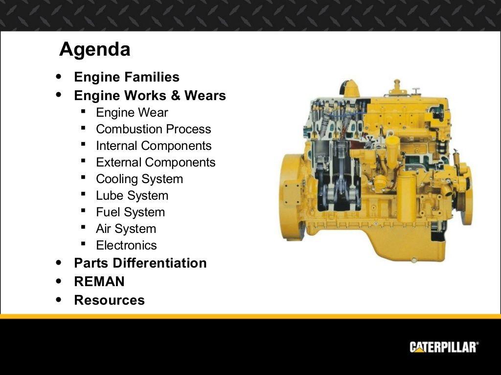 Rv Water Pump Diagram Caterpillar Engine Presentation Shop Talk Caterpillar