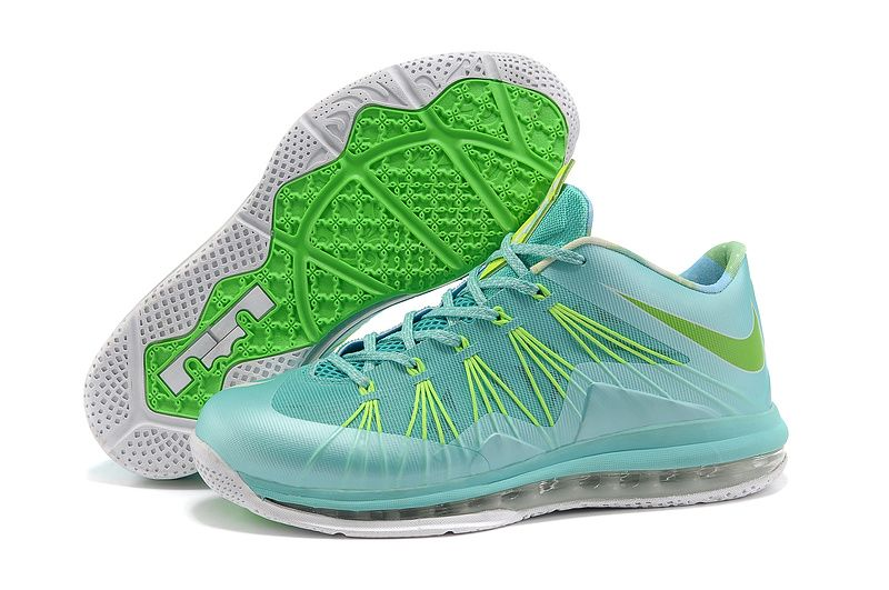 Nike Air Max Lebron X Low - Chrystal Mint/Fiberglass-Poison Green Outlet Sale