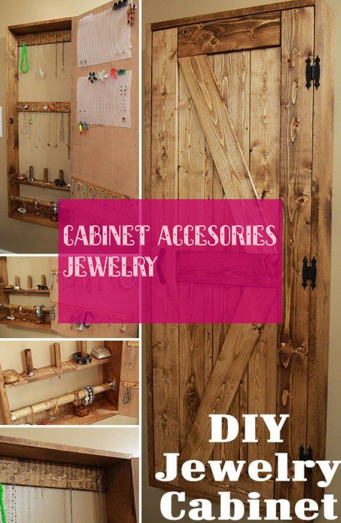 Cabinet accesories jewelry