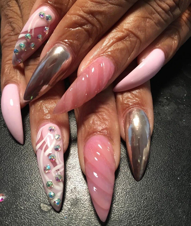 guapshawty | Nails | Pinterest | Nagelschere, Stiletto-Nägel und ...