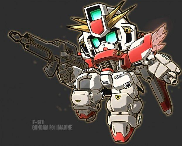 日本插畫家7 2號 Q版機械人反作品分享 Gundam Art Robots
