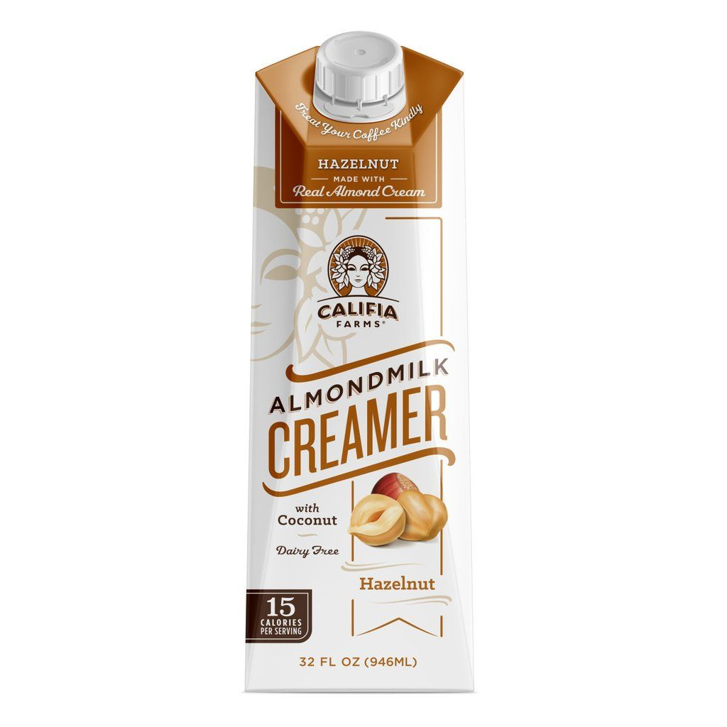Hazelnut creamer 1 pack 2 bottles hazelnut creamer