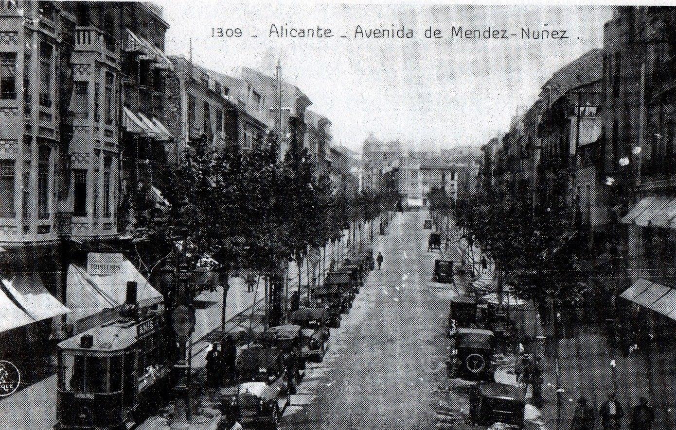 1930 Alacant Rambla Mendez Núñez Alicante Alicante España Fotos