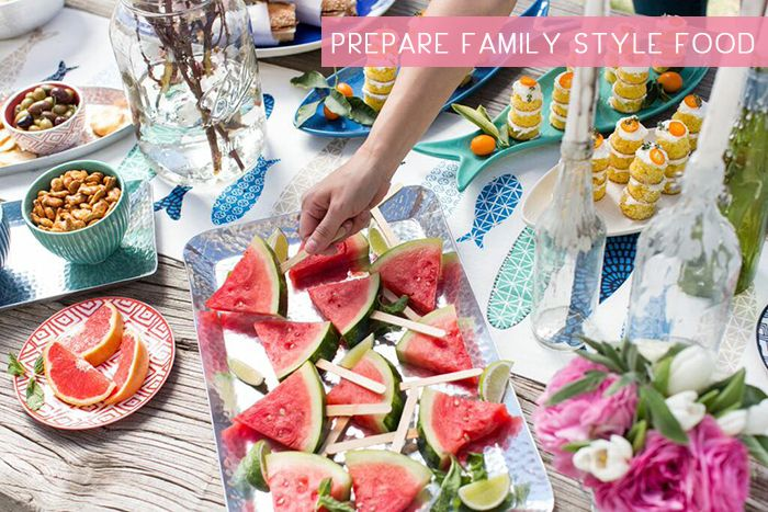 How To Throw A Stress Free (Well Almost) Outdoor Party