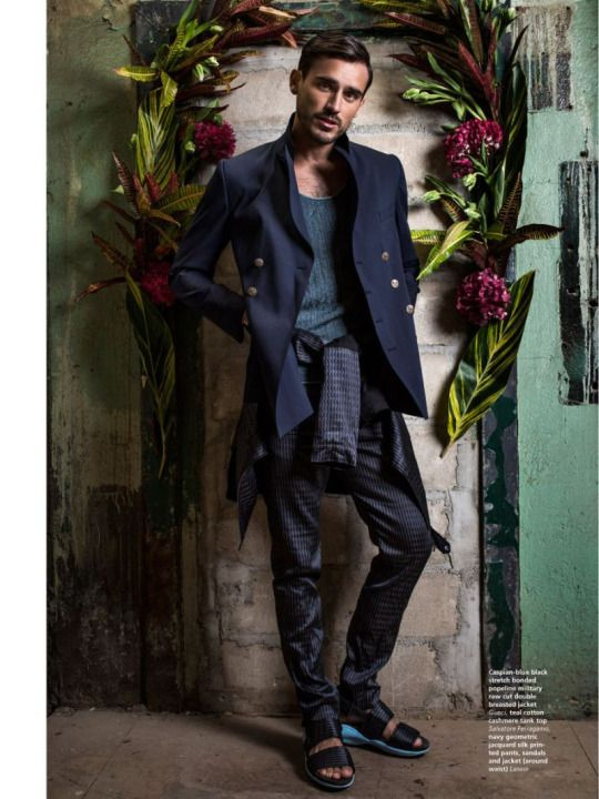 Arthur Kulkov for L'Officiel Hommes Middle East