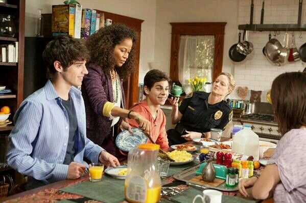 #tbt first ever episode of the fosters