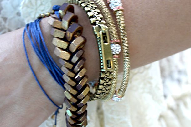 Giles & Brother Hex Nut Bracelet DIY Look For Less