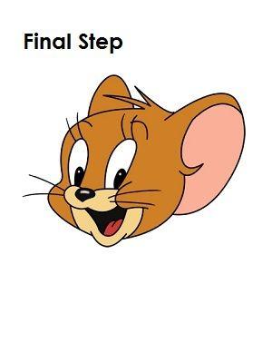 How To Draw Jerry Final Step Birthdays Pinterest