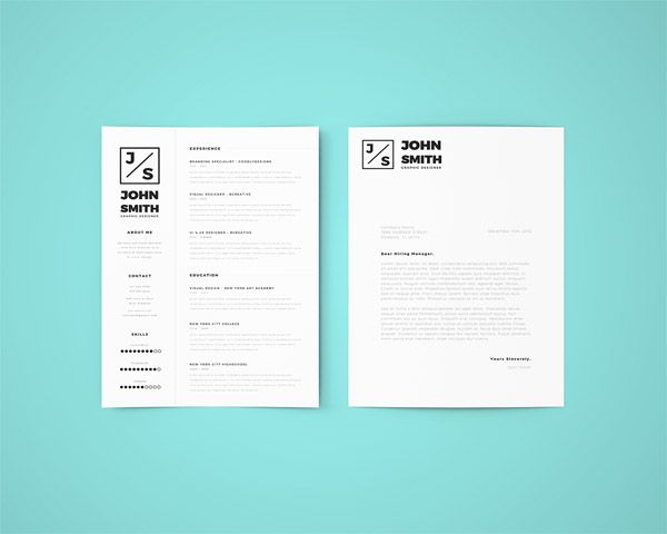 27 Free Minimal Resume Template for Any Job Opportunity Career