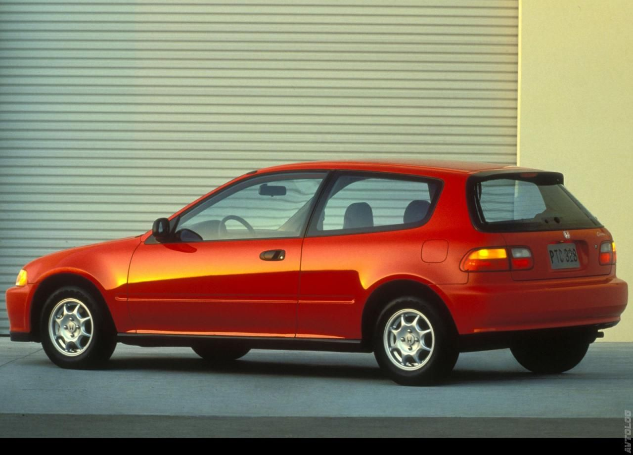 Katalog 1992 Honda Civic Hatchback Honda Civic Hatchback Civic Hatchback Honda Civic