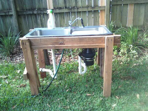 Pin By Jennifer Giles Kemper Sacred On Home Garden Outdoor Sinks Garden Sink Outdoor