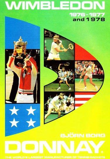 Donnay | Bjorn borg, Tennis posters, Vintage tennis
