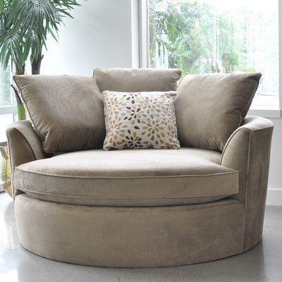 Best Laurel Foundry Modern Farmhouse Marta Cuddler Chair And A 640 x 480