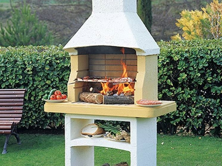Risultati immagini per blocchi di cemento per barbecue   barbecue ...