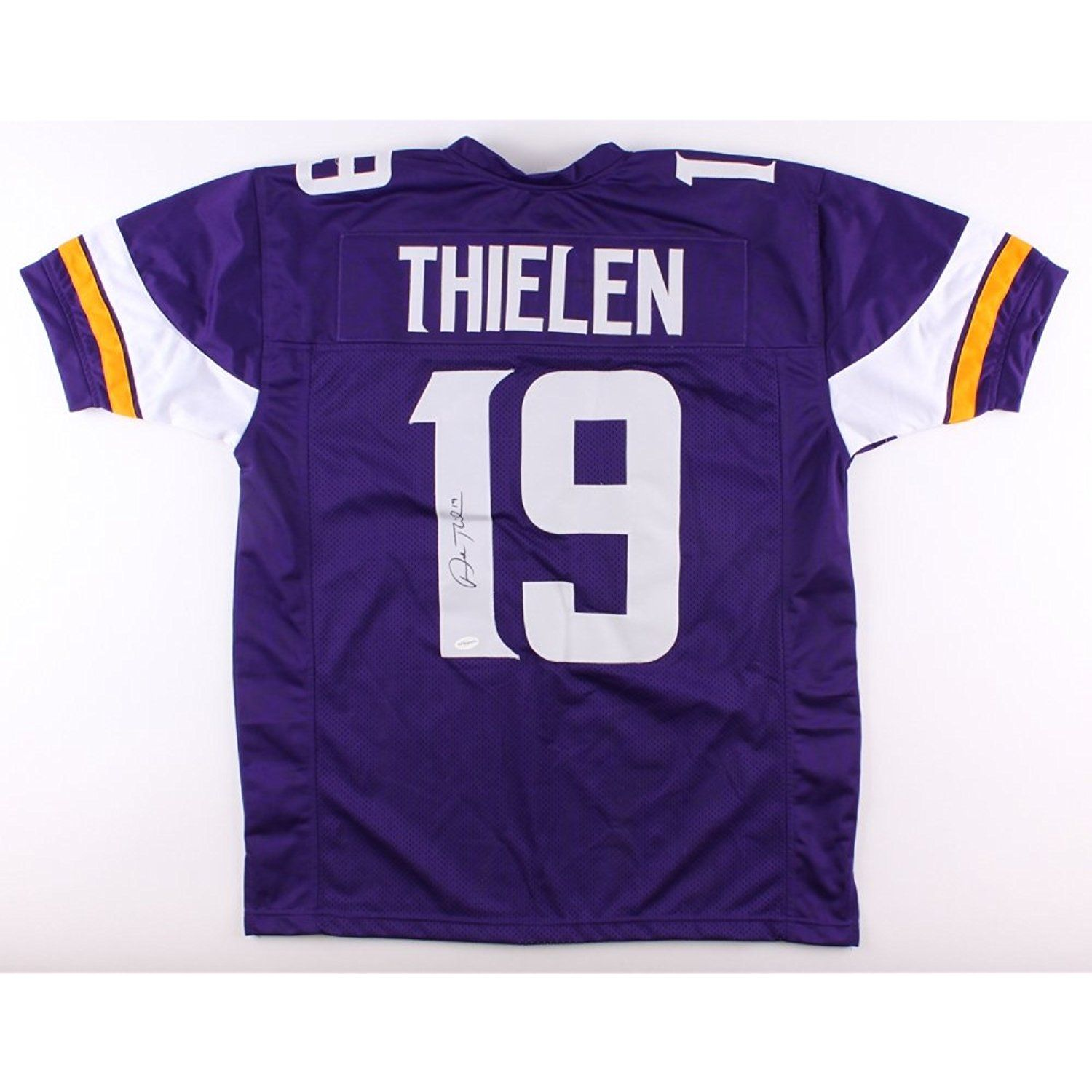Adam Thielen Autographed Signed Minnesota Vikings Purple Jersey Certified  Authentic TSE Hologram  SportsCollectibles 8e5fdf50e