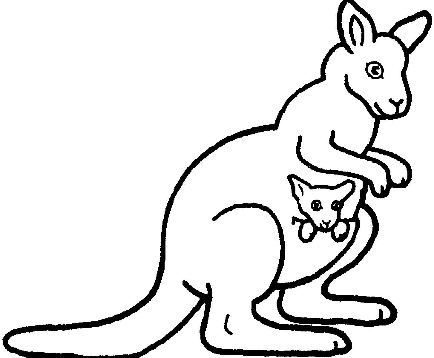 Kangaroo Coloring Pages Preschool Collection Animal Coloring Pages Baby Coloring Pages Coloring Pages