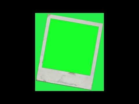 Green Screen Polaroid Overlay | YouTube | Overlays, Polaroid, Green