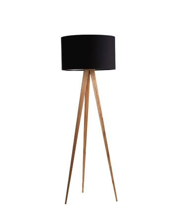 Stehlampe Dreibein Schwarz Einrichten Pinterest Stehlampen - moderne wohnzimmer stehlampe