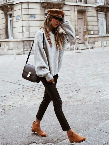 11ed2de1c1 20 Cozy Sweaters to Wear With Your Skinny Jeans (WhoWhatWear.com ...