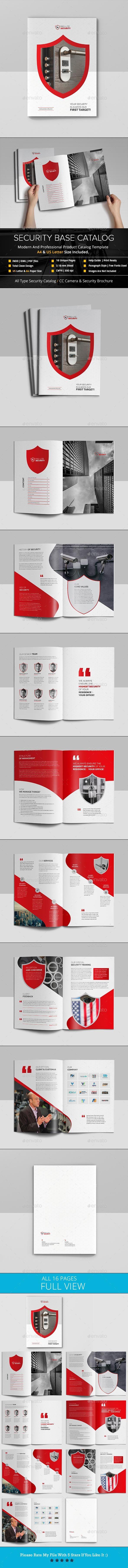 security base catalog brochure graphicdesign brochuretempate