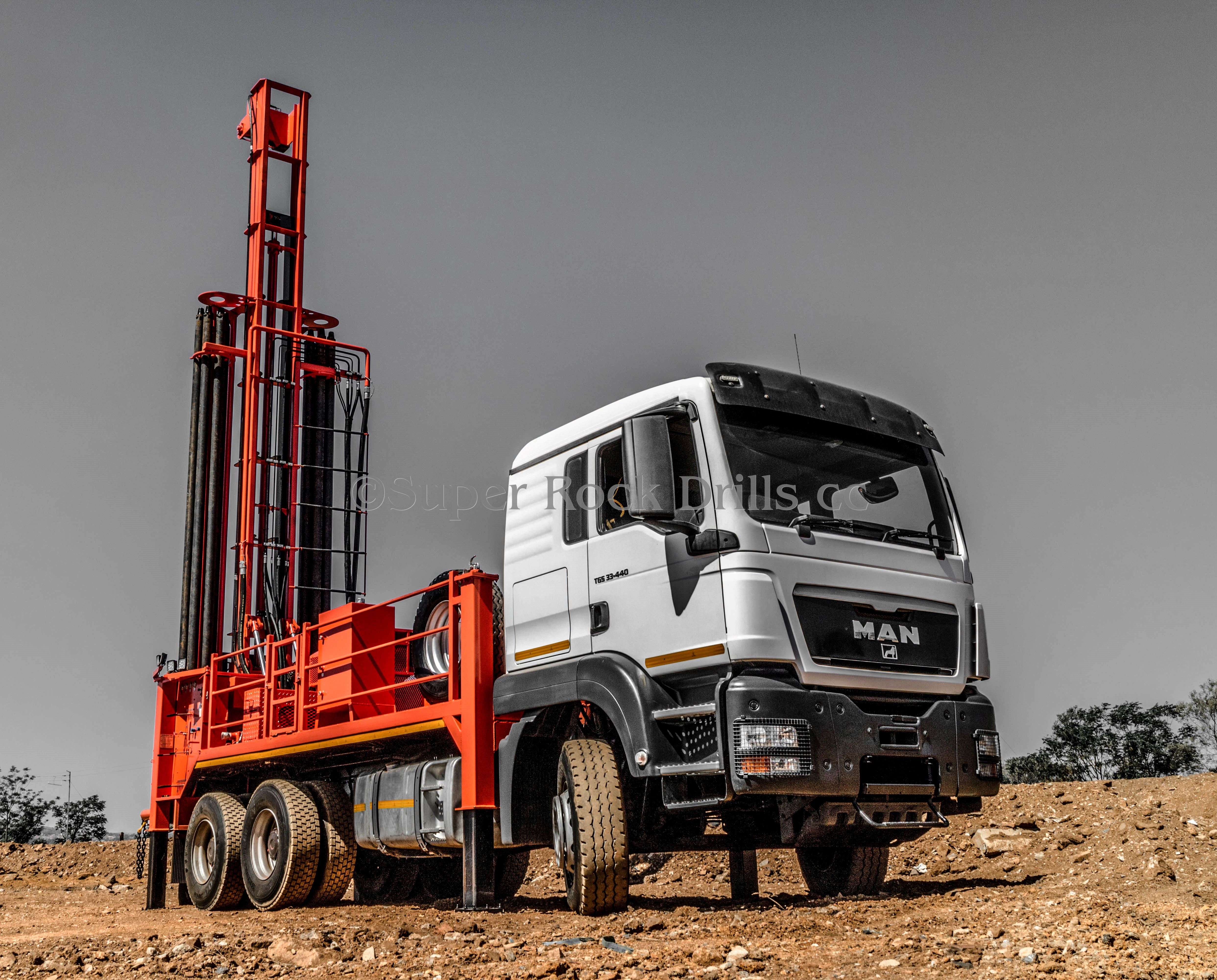 A Super Rock Drills Sr1000 Water Well Drill Rig Water Well Drilling Drilling Rig Well Drilling