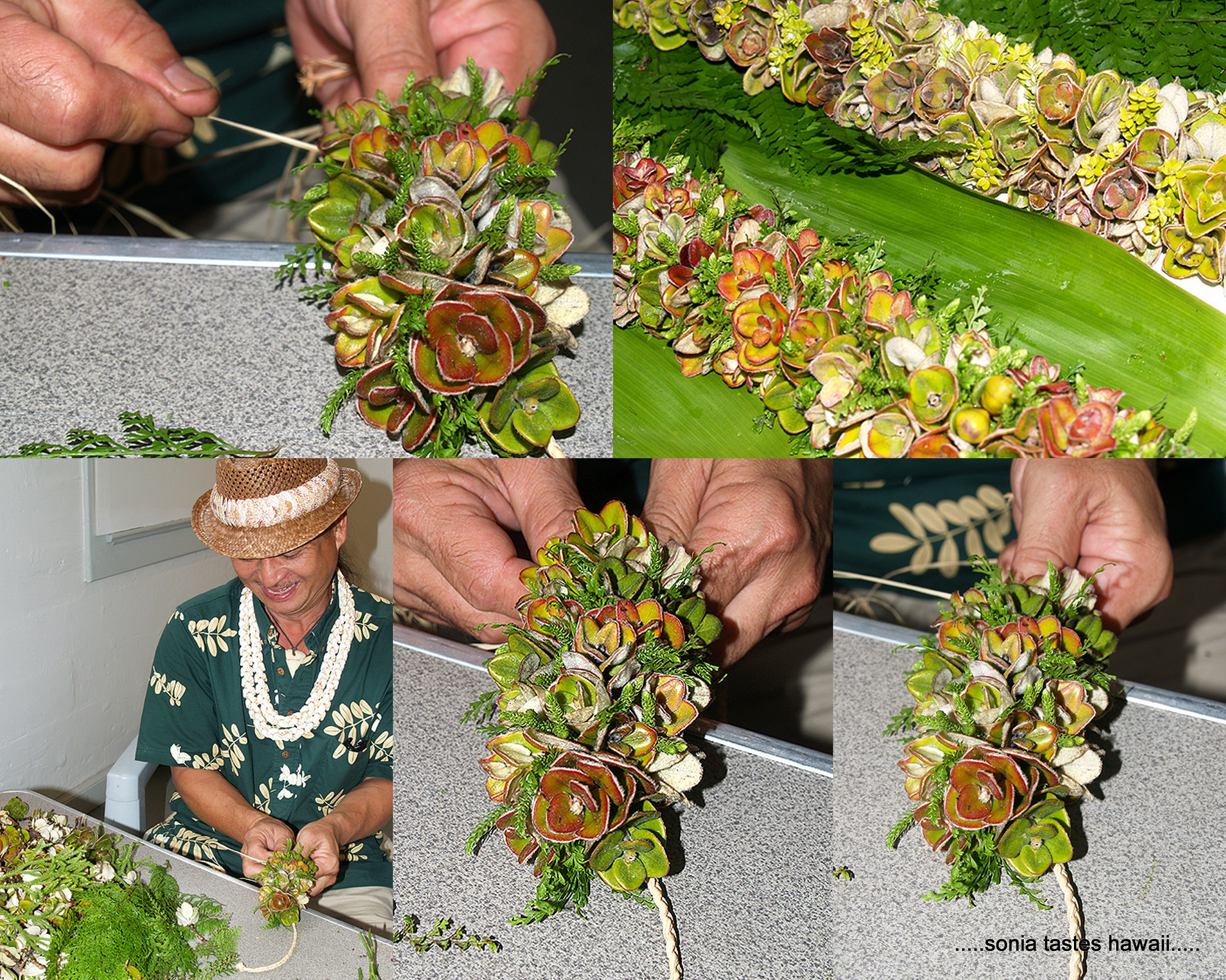 A beautiful lei made with liko lehua made by randy lee na pua a beautiful lei made with liko lehua made by randy lee izmirmasajfo Images