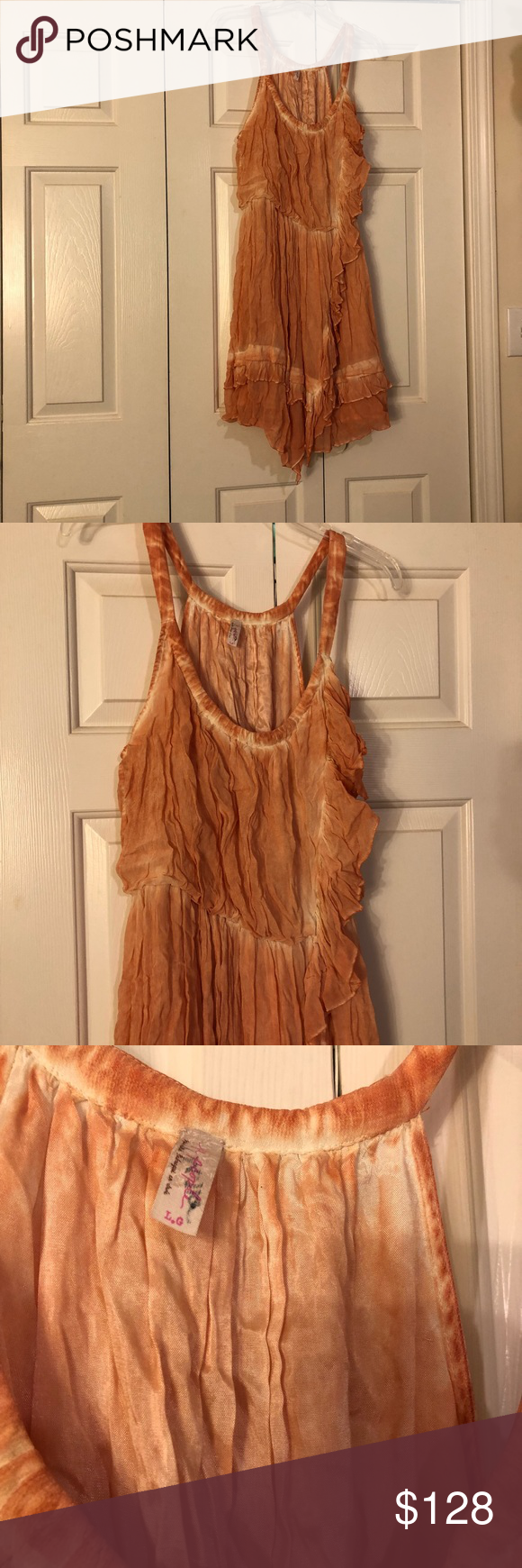 FREE PEOPLE SUN DRESS ONLY WORN ONCE 😱😱😱😱😱😱 This dress is