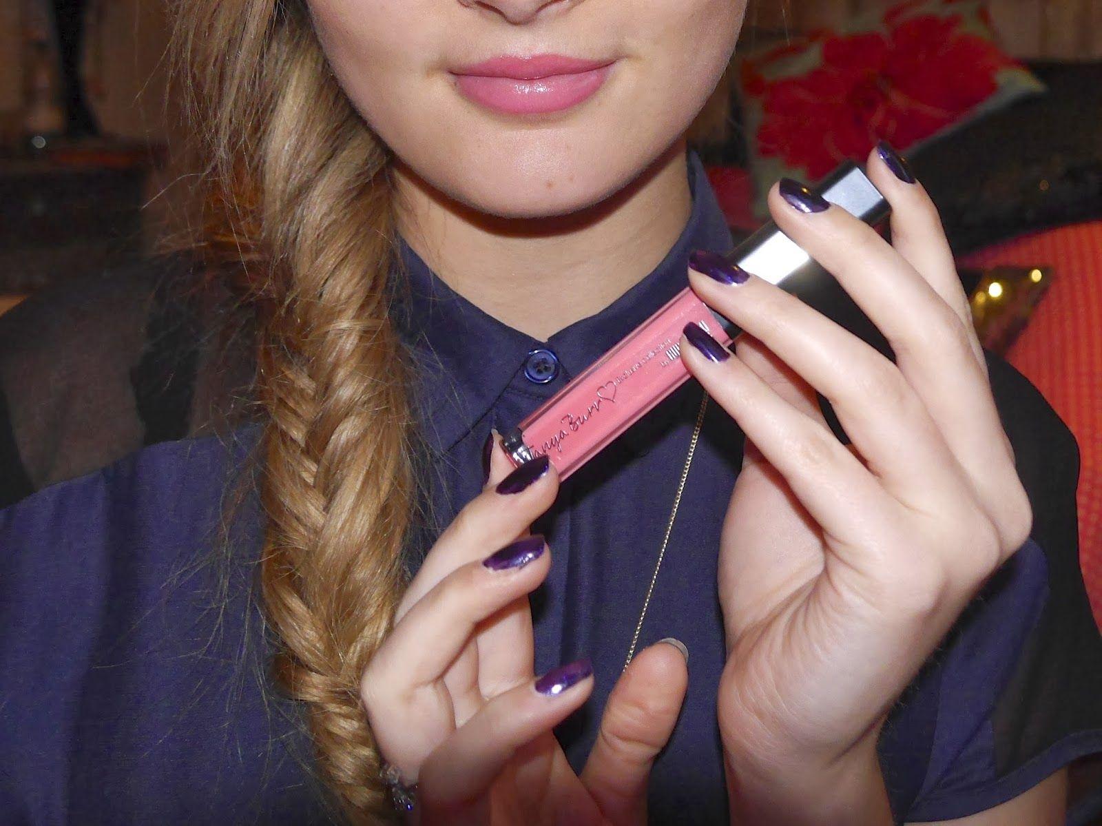 The beautiful Naomi Smart using Tanya Burr's brand new