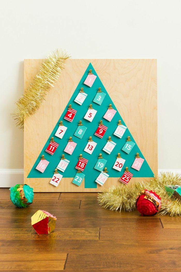 Kleiner Weihnachtskalender.1001 Ideen Für Adventskalender Selber Basteln Weihnachten Und