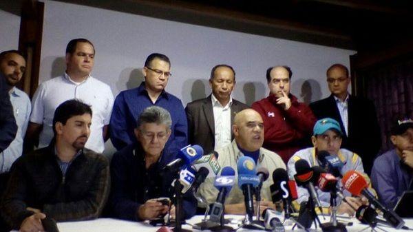 Pedirá oposición activar proceso revocatorio de Nicolas Maduro