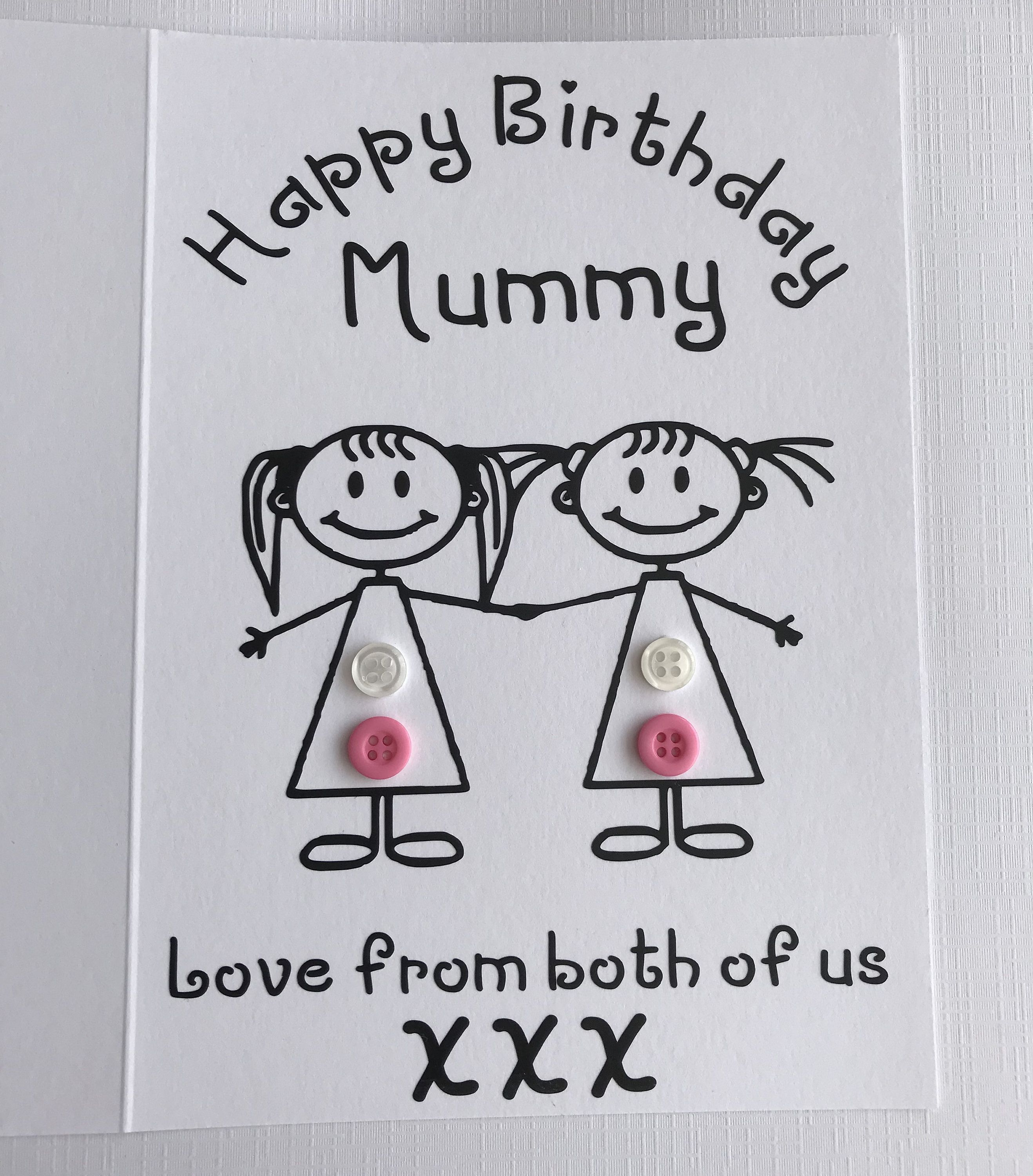 Happy Birthday Card For Mummy Personalised Birthday Card Etsy Happy Birthday Cards Personalized Birthday Cards Happy Birthday Mommy